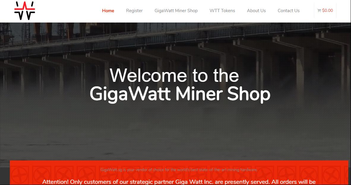 GigaWattMinerShop