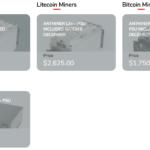 購入したマイナーをGigaWattでホスティングしてもらい、ビットコインを採掘する手順